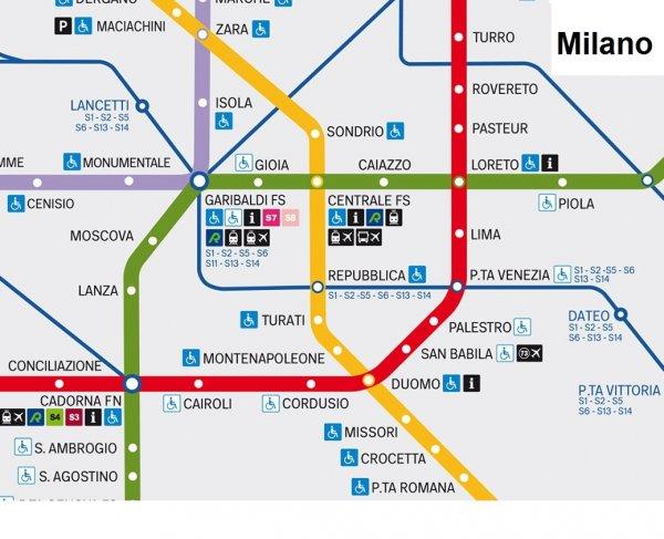 Milano Servizio metropolitano